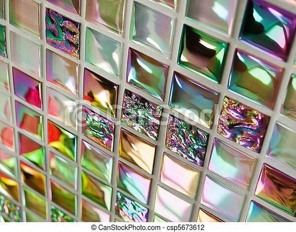 Stock foto von glas, fliesenmuster, mosaik   badezimmer, wand, von ...