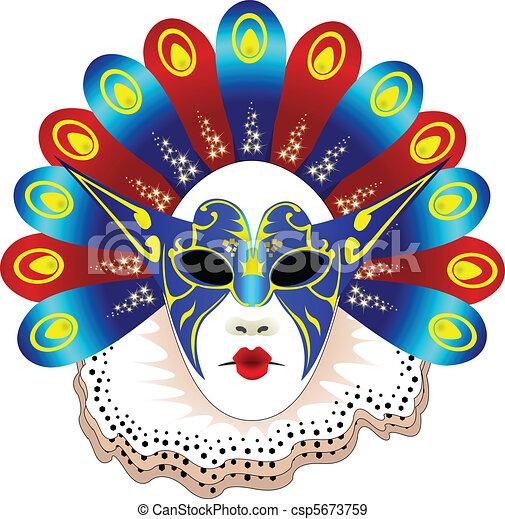 Carnival mask Vector Clipart EPS Images. 6,722 Carnival mask clip ...
