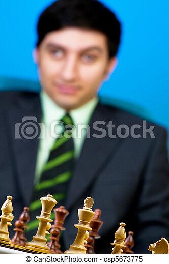 FIDE Grand Master Vugar Gashimov (World Rank - 12) from Azerbaijan - csp5673775