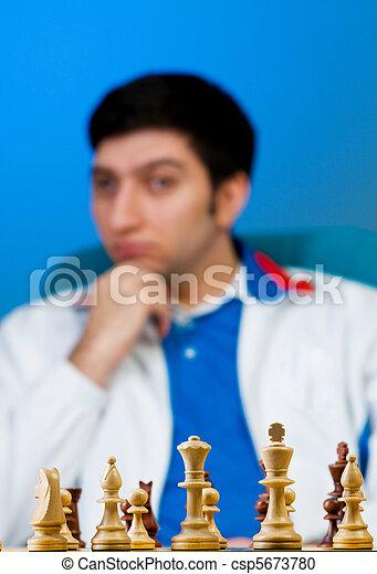 FIDE Grand Master Vugar Gashimov (World Rank - 12) from Azerbaijan - csp5673780