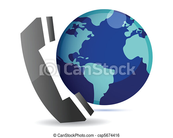 international calls  - csp5674416