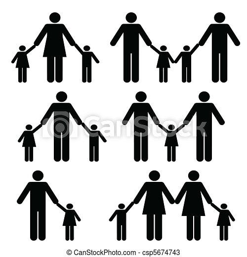 Lesbian and gay parents - csp5674743