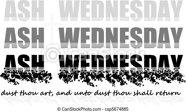 ash wednesday - csp5674885