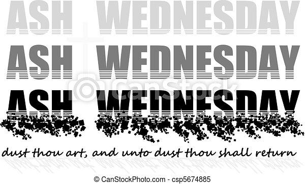ash wednesday - csp5674885