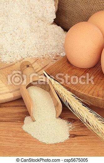 Baking Ingredients - csp5675005
