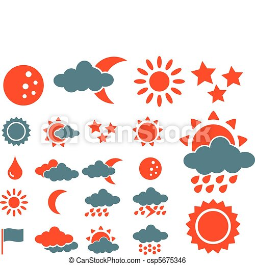 weather icons - csp5675346