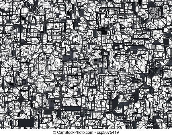 Abstract mesh texture  - csp5675419