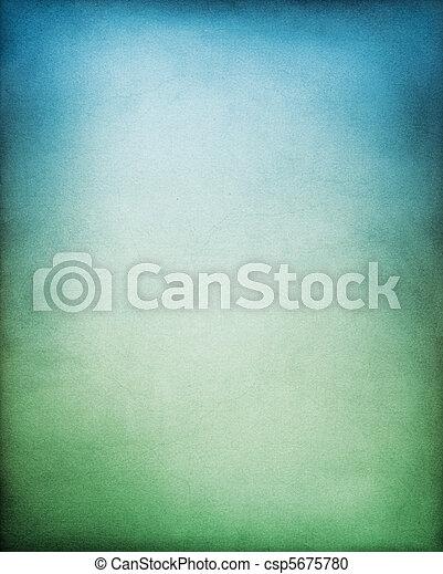 blaues, grün, hintergrund - csp5675780