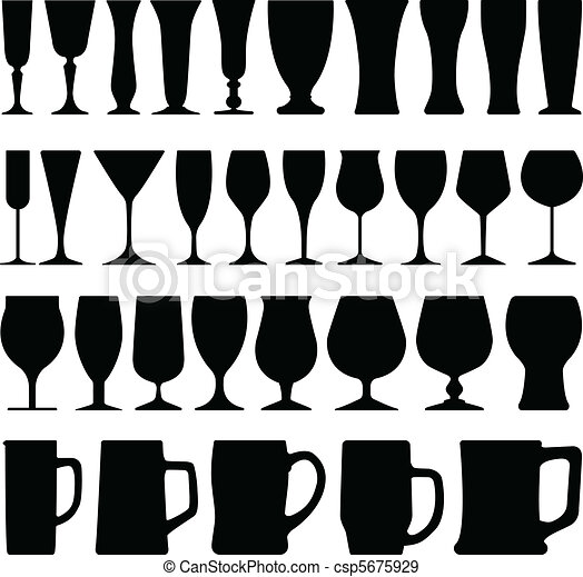 Wine Beer Glass Cup - csp5675929