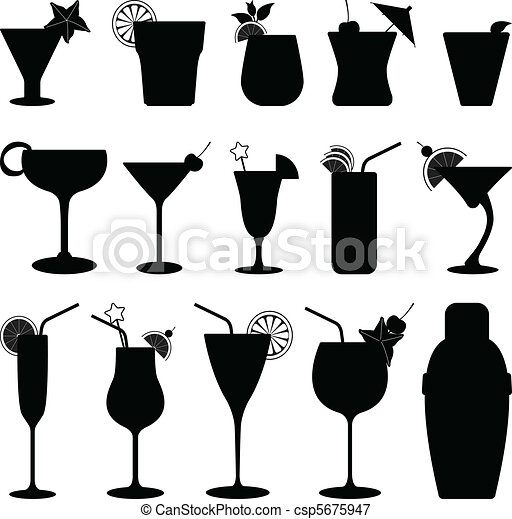 Cocktail Drink Fruit Juice - csp5675947