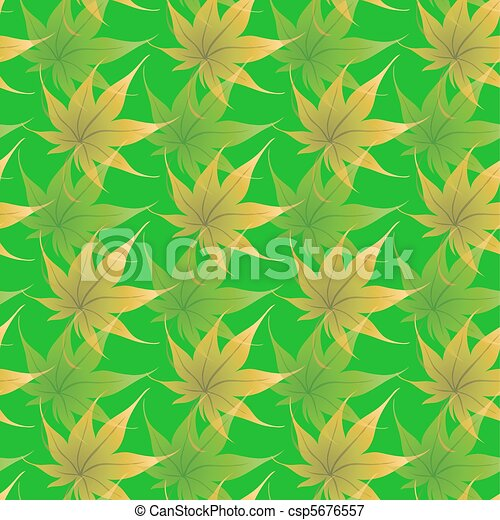 Wallpaper with curling leaves of a plant - csp5676557