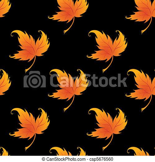 clipart vecteur de papier peint bordage feuilles plante csp5676560 recherchez des images. Black Bedroom Furniture Sets. Home Design Ideas