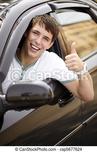 happy driving - csp5677624