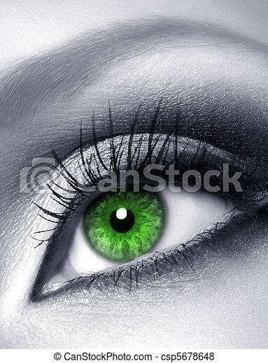 green eye - csp5678648