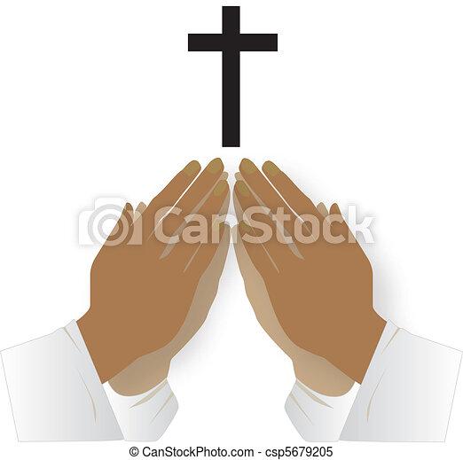 praying together - csp5679205