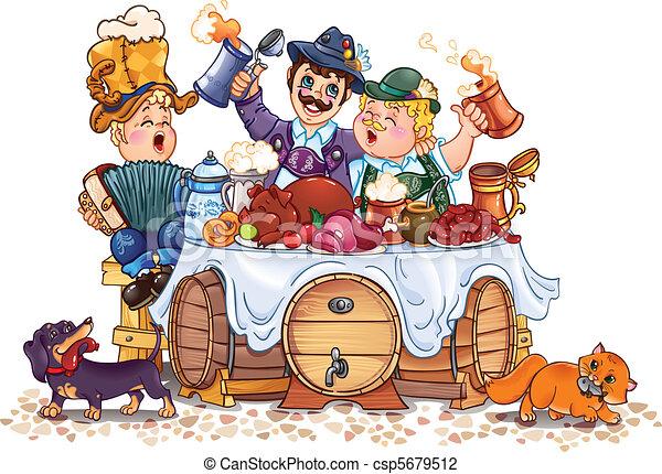 Oktoberfest festival - csp5679512