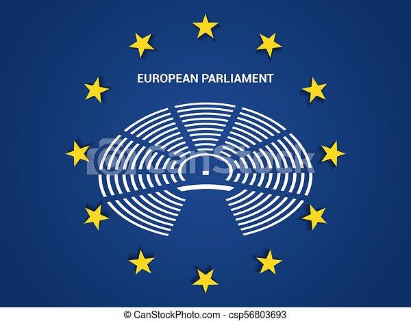 合併フラグ, 議会, ヨーロッパ. 議会, 組合, シンボル, に対して, 旗 ...