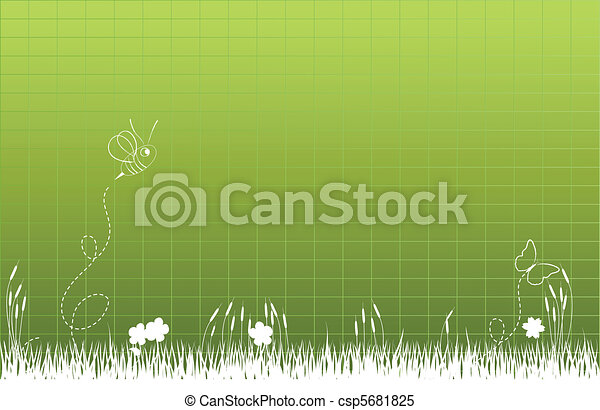 Thick tall grass - csp5681825
