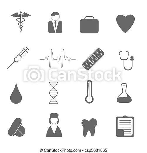 Health care icons - csp5681865