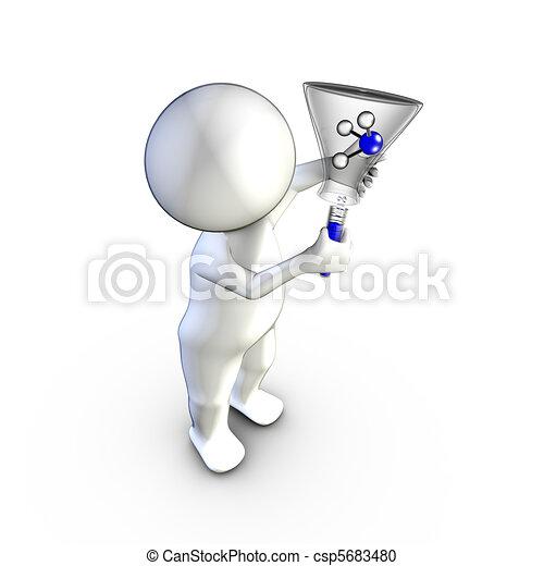 化学物質, 経験 - csp5683480 a, 人, ∥操る∥, ammoniac, 分子お気