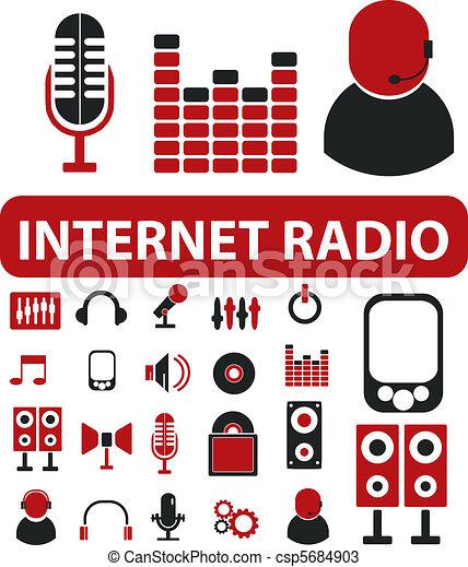 Internet Radio Clip Art