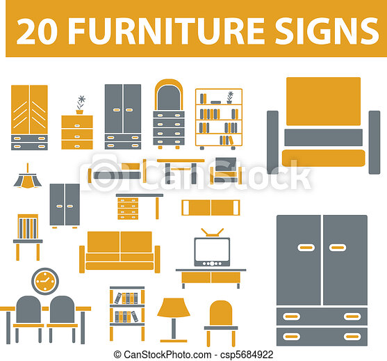 furniture signs - csp5684922