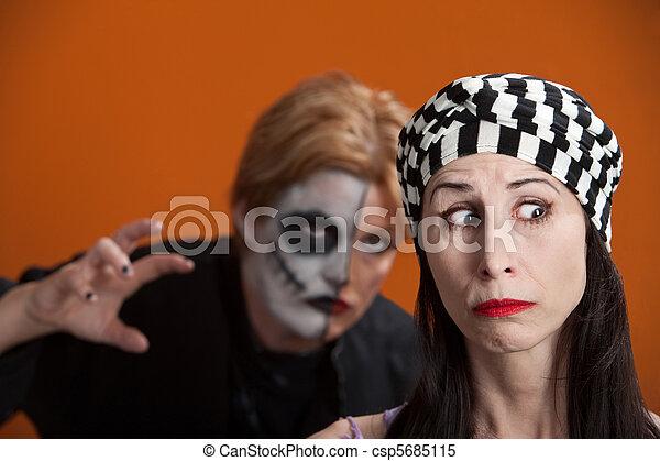 Stalking Woman - csp5685115