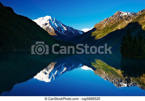 Mountain lake - csp5686525