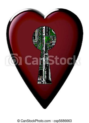 Cybernetic hearts - csp5686663