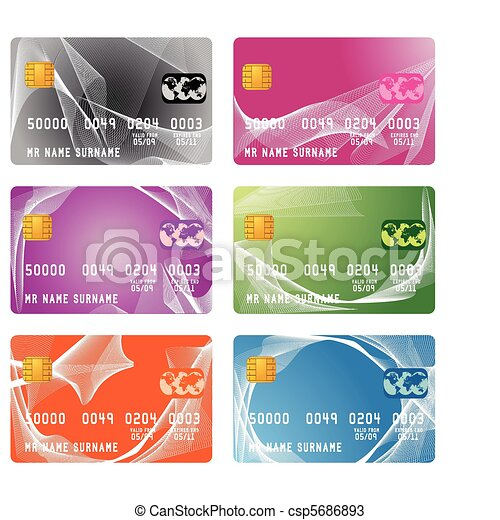 credit card - csp5686893