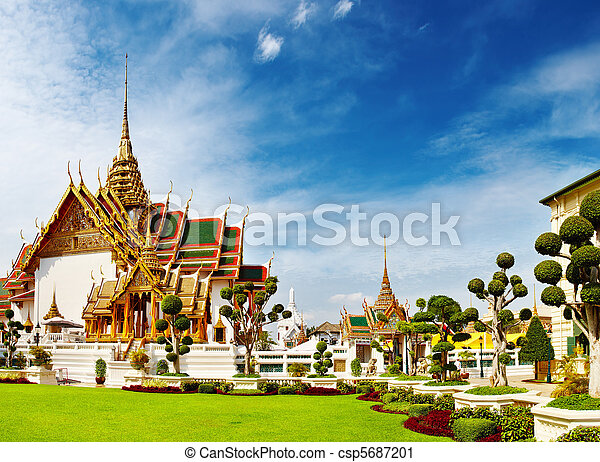 Grand Palace Bangkok Thailand - csp5687201