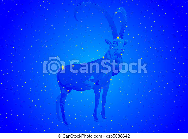 constelación, capricornio - csp5688642