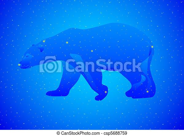Ursa Major Drawing Constellation Ursa Major