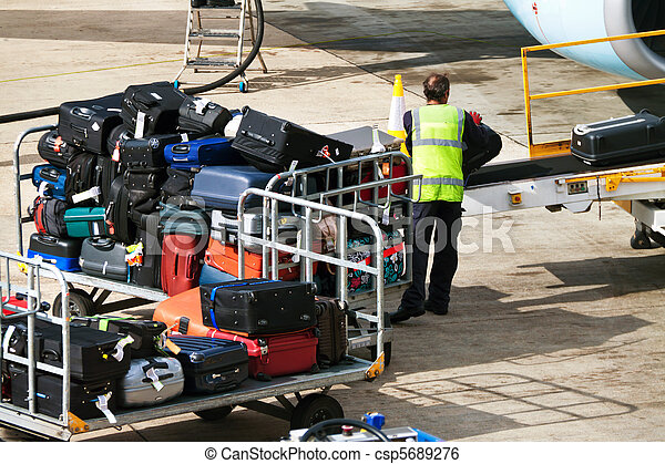 Case. Luggage when loaded - csp5689276