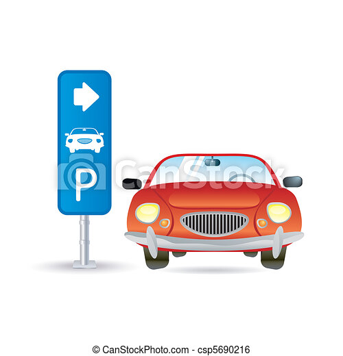 parking icon - csp5690216