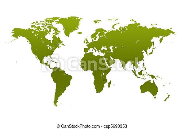World map - csp5690353