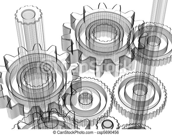 Stock Illustration Von Industrie Begriff Design