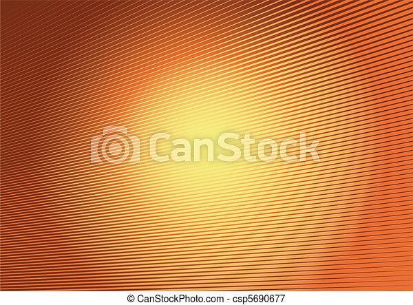 Shiny reflective modern striped bac - csp5690677