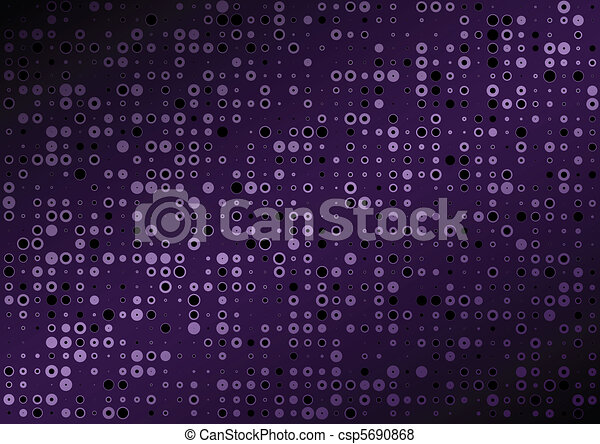 Background purple vector dot - csp5690868