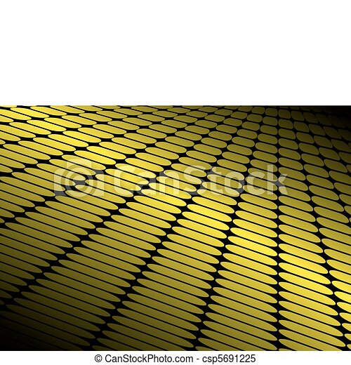 Shiny yellow vector techno floor - csp5691225