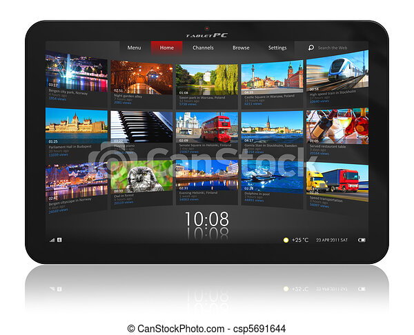 Tablet PC - csp5691644
