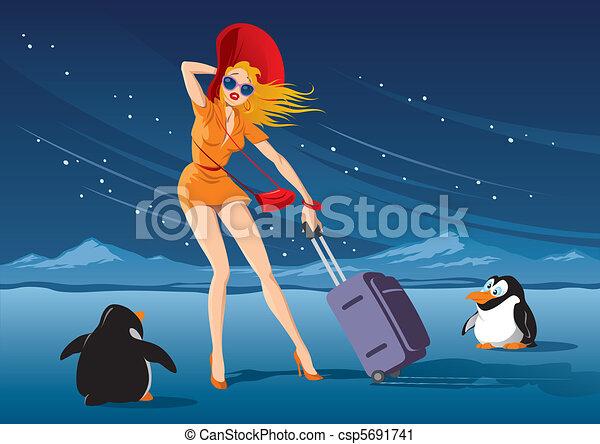 ?Journey to the Tropics? - csp5691741