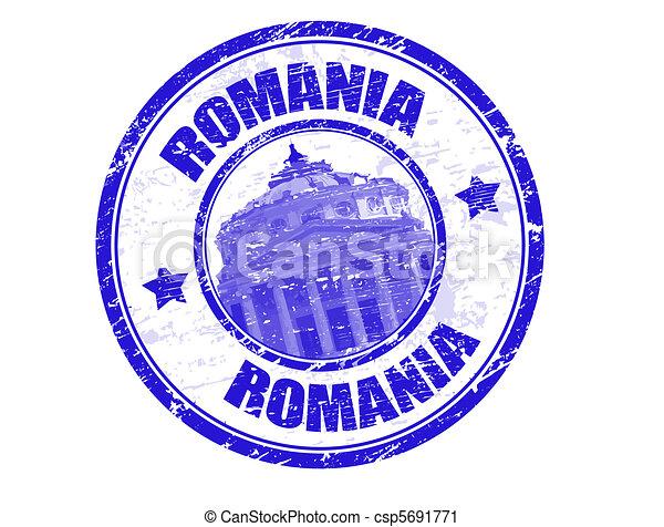 Romania stamp - csp5691771