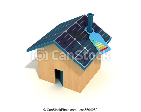 photovoltaic house - csp5694250
