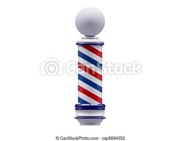 barber sign - csp5694352