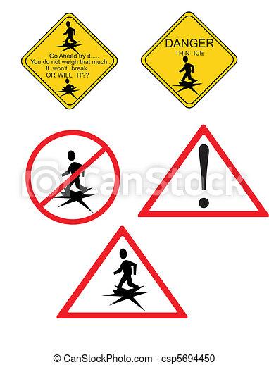 Danger.. Thin Ice.. - csp5694450