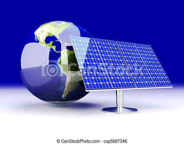 Alternative Energy - America - csp5697346