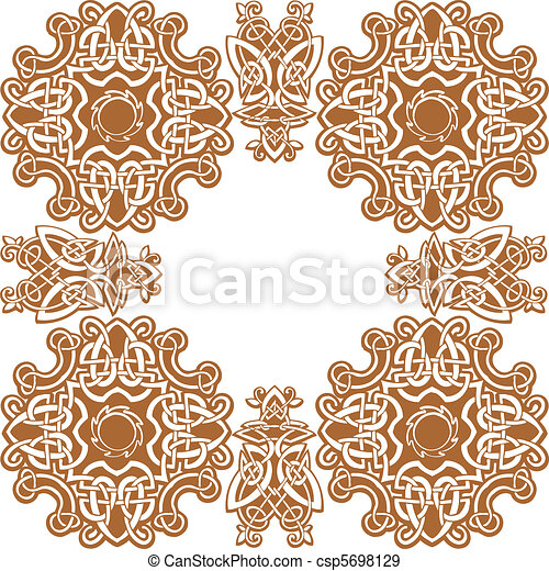 Celtic vector art-collection. - csp5698129