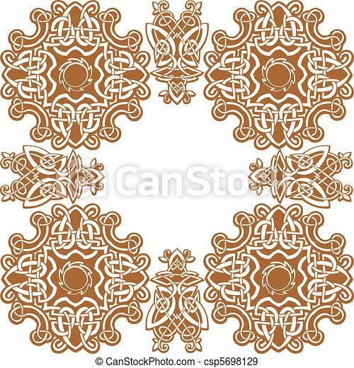 Celtic vector art-collection. - csp5698129