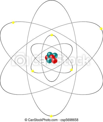 atom nucleus - csp5698658
